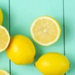 Zitrone als Haushaltswaffe