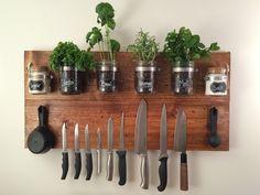 platz sparen küche wände nutzen
